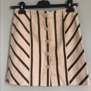 INTERMIX Striped Skirt